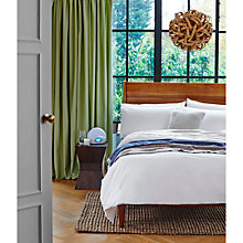 Buy John Lewis Fairtrade Organic Cotton Bedding, White Online at johnlewis.com